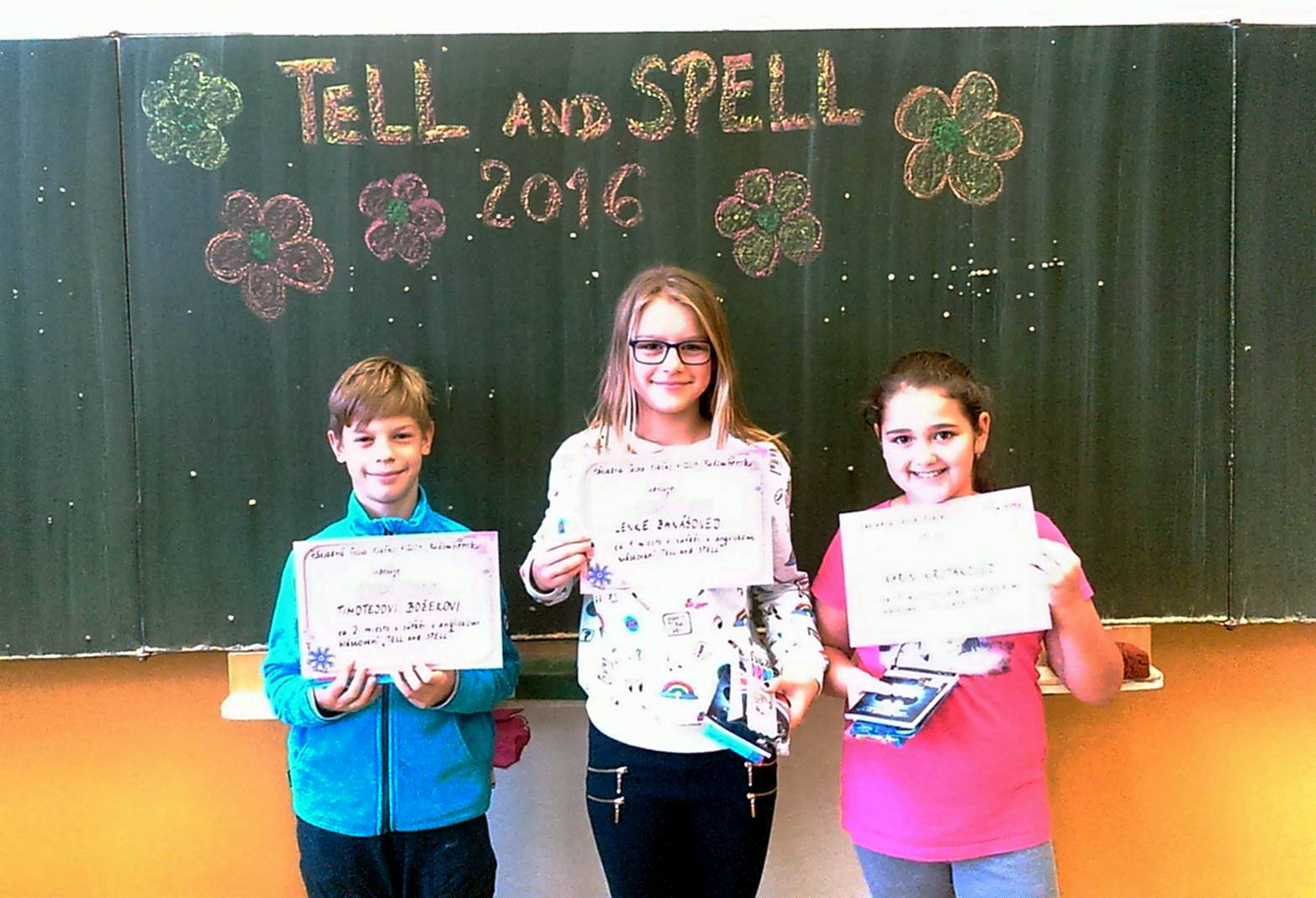 TELL and SPELL 2016 1