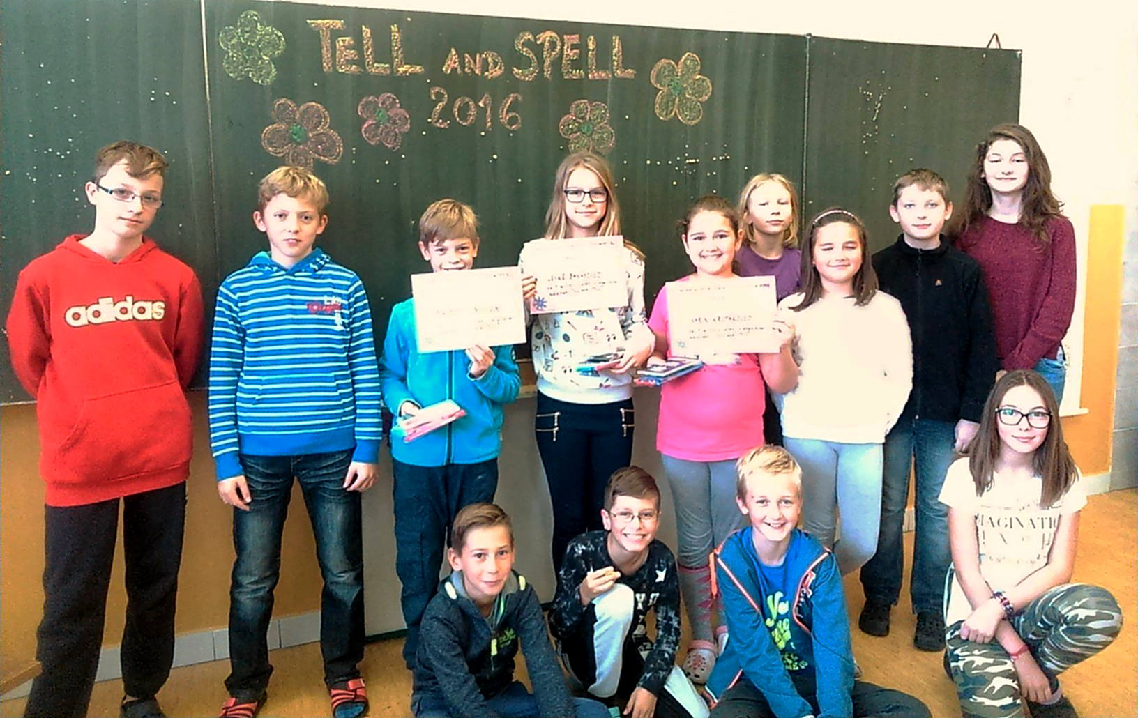TELL and SPELL 2016 2